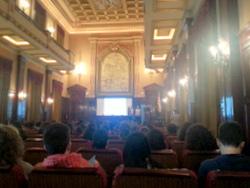 La trobada barcelonina es va celebrar a l'Escola Pia de Sarrià