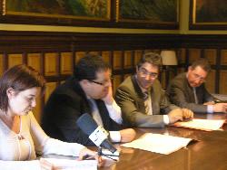 L'acord es va signar aquest dimarts a la tarda a l'Ajuntament de VNG