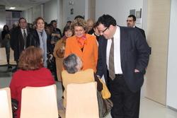 Marina Geli i Joan Ignasi Elena, al CAPI de Baix-a-Mar