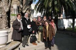 El grup de dones a Can Pahissa