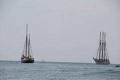 El Ciutat de Badalona i el Santa Eulàlia a aigües vilanovines