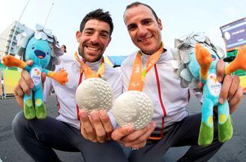 Els dos medallistes olímpics a Río