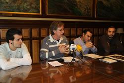 Tomàs Álvaro, amb Miki Calderón, Raúl Ramos i David d'Éboli (Dr Jum)