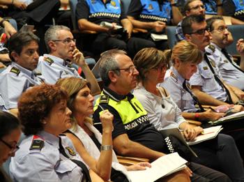 La Regidora de Seguretat, Glòria Garcia, ha donat la benvinguda als participants