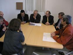 Reunió Consorci Colls Miralpeix i Diputació de Barcelona