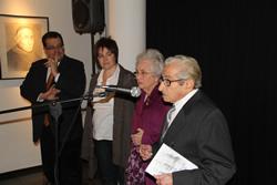 L'exposició es fruit d'un conveni entre l'Ajuntament de VNG i l'artista