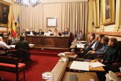Votació en sessió plenària de les ordenances fiscals per a 2015