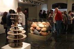 La mostra va ser inaugurada ahir al vespre