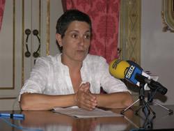 Iolanda Sánchex, primera tinent d'alcalde i regidora de Medi Ambient de VNG