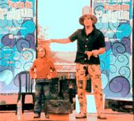 Imatge de l'espectacle de màgia que es veurà dissabte a la plaça de la Vila
