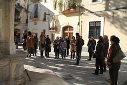 Visita guiada als ciutadans nouvinguts