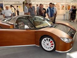 Prototip de cotxe presentat a Galàctica