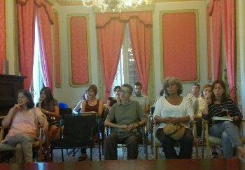 La reunió es va fer a la Sala Noble de la Casa Olivella