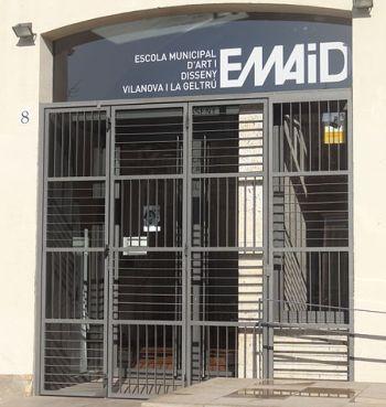 Façana de l'EMAiD