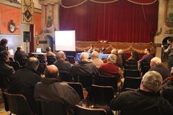 Pla de Mandat amb el veïnat del centre i de Can Marquès a l'Orfeò Vilanoví