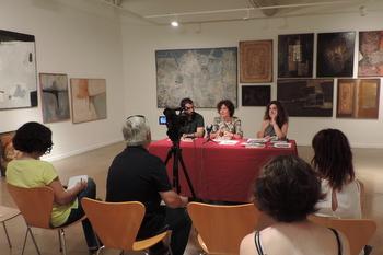 L'exposició, que s'inaugura dijous a les 19.30 h, es va presentar en roda de premsa