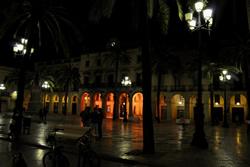 La plaça de la Vila l'any passat durant l'Hora del Planeta
