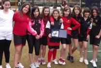 L'equip de l'Aragai, vencedor en categoria femenina
