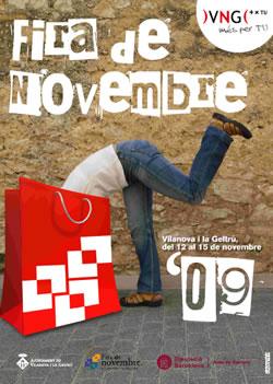 Cartell Fira de Novembre 09
