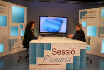 El Sessió Plenària s'emet cada dilluns a Canal Blau TV i l'Eix Diari