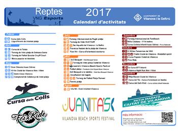 Reptes 2017 calendari