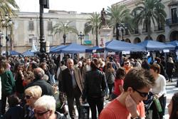 La plaça de la Vila va acollir novament el Fora estocs