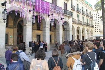 Un any més, la plaça de la Vila ha estat decorada per a l'ocasió