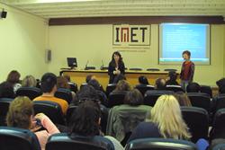 La sessió es va fer a l'IMET