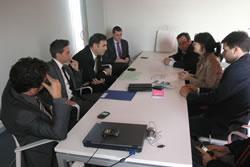 A la reunió celebrada a Neàpolis s'ha parlat sobre el desenvolupament econòmic de la ciutat vinculat a les TIC