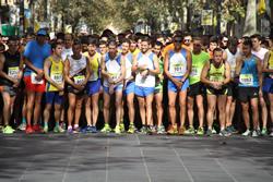 Sortida de la cursa general de 5.000 metres