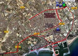 Circuit de la XXIII Mitja Marató Ciutat de Vilanova
