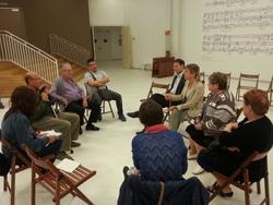 La trobada es va dur a terme a l'Auditori Eduard Toldrà