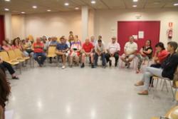 La trobada al centre cívic de La Collada va reunir una cinquantena de persones