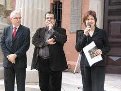 Inauguració de la rehabilitació de les façanes del museu