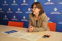 La regidora de Serveis Viaris i Mobilitat ha presentat el dossier en roda de premsa