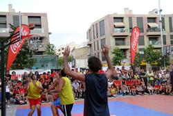 Final masculina del 3x3 Bàsquet al carrer