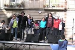 l'actuació de Pep Sala i els Cracs d'Andi va animar la X Festa per una Societat Inclusiva