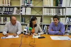 D'esquerre a dreta, Jordi Pons, Ariadna Llorens i Àlvaro Molinuevo