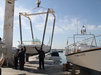 Imatge del primer curs d'auxiliar de buc en port realitzat l'any 2013