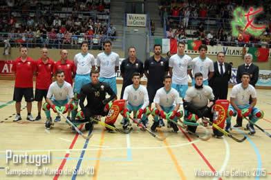 Selecció Portugal Sub20 hoquei patins
