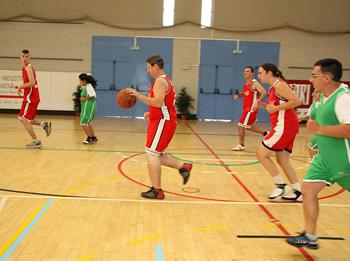 El grup més nombrós de participants correspon a la disciplina esportiva del bàsquet