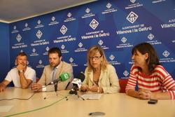 Joan Giribet, Gerard Figueras, Neus Lloveras i Glòria Garcia