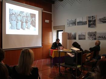 Conferència del director de l'Arxiu Històric Comarcal, Rafael Mestres