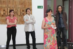 Inauguració de l'exposició 'Arxiu Diògenes' de Carles Arnal