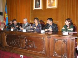 La signatura del Pacte Local per l'Ocupació