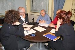 Visita Lluís Puig reunió 250