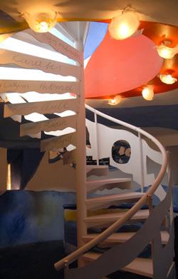 Interior Torre Blava