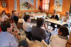 Una quinzena de veïns i veïnes van assistir a la reunió