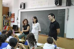 Els alumnes de 6è de primària van fer vàries preguntes a la regidora Llorens