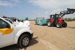 S'ha presentat la nova maquinaria per la neteja de platges amb la nova imatge